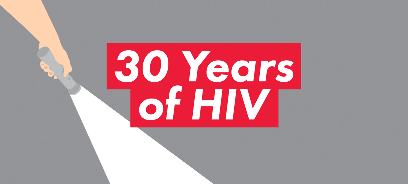 30 Years of HIV - Concept
