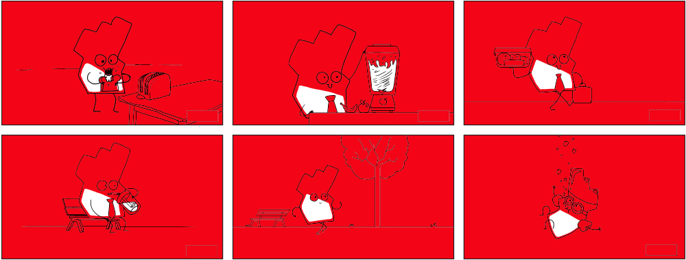 Blood Cancer - Storyboard