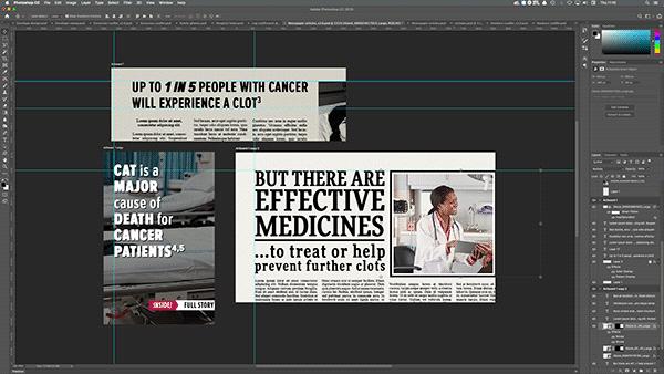 Blood Clots Cancer an You - Design Assets 6