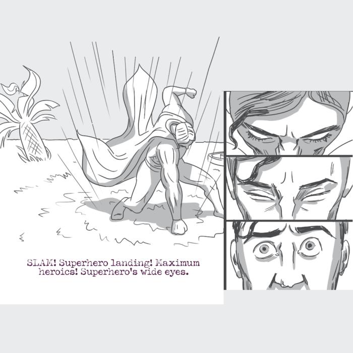 GIG Concepts #1 - Superhero Comic Book Strip 06