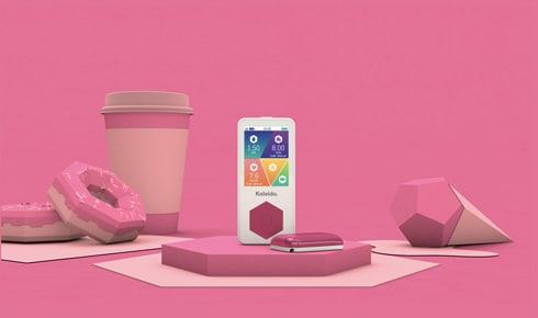 Kaleido - C4D Pink Render