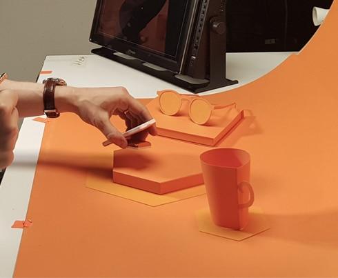 Kaleido - Card Orange