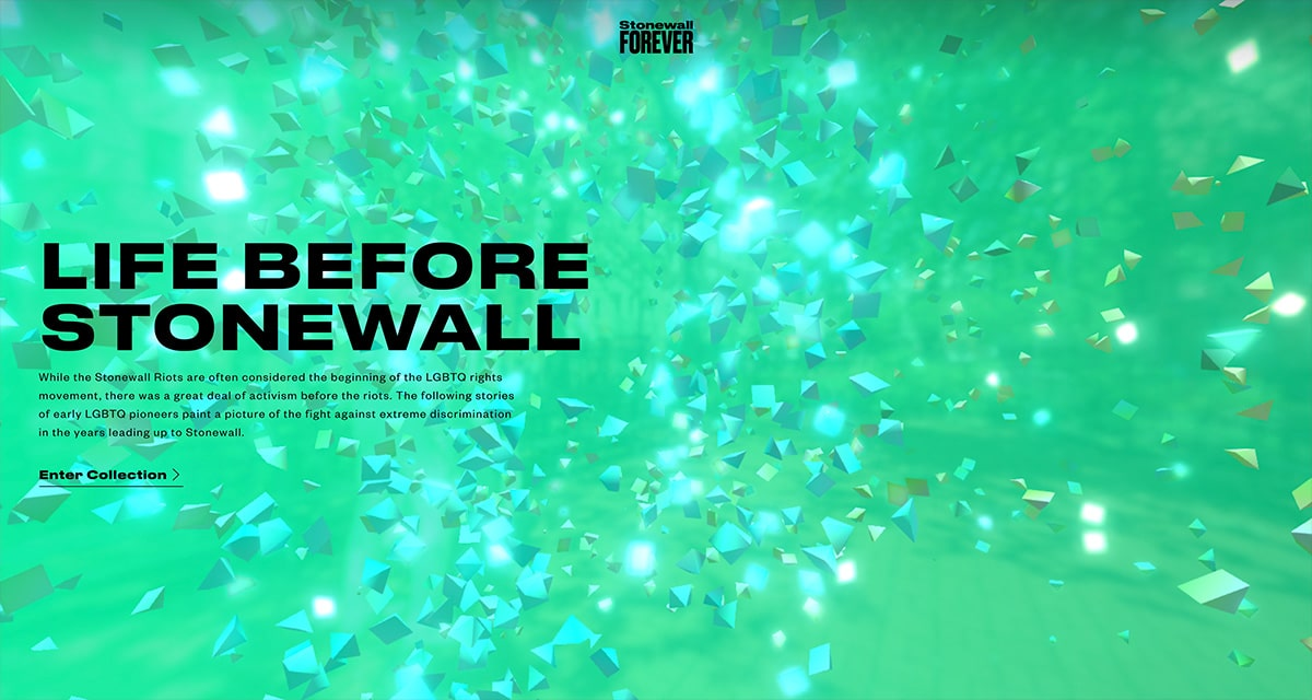 Stonewall Forever - Intro Screen